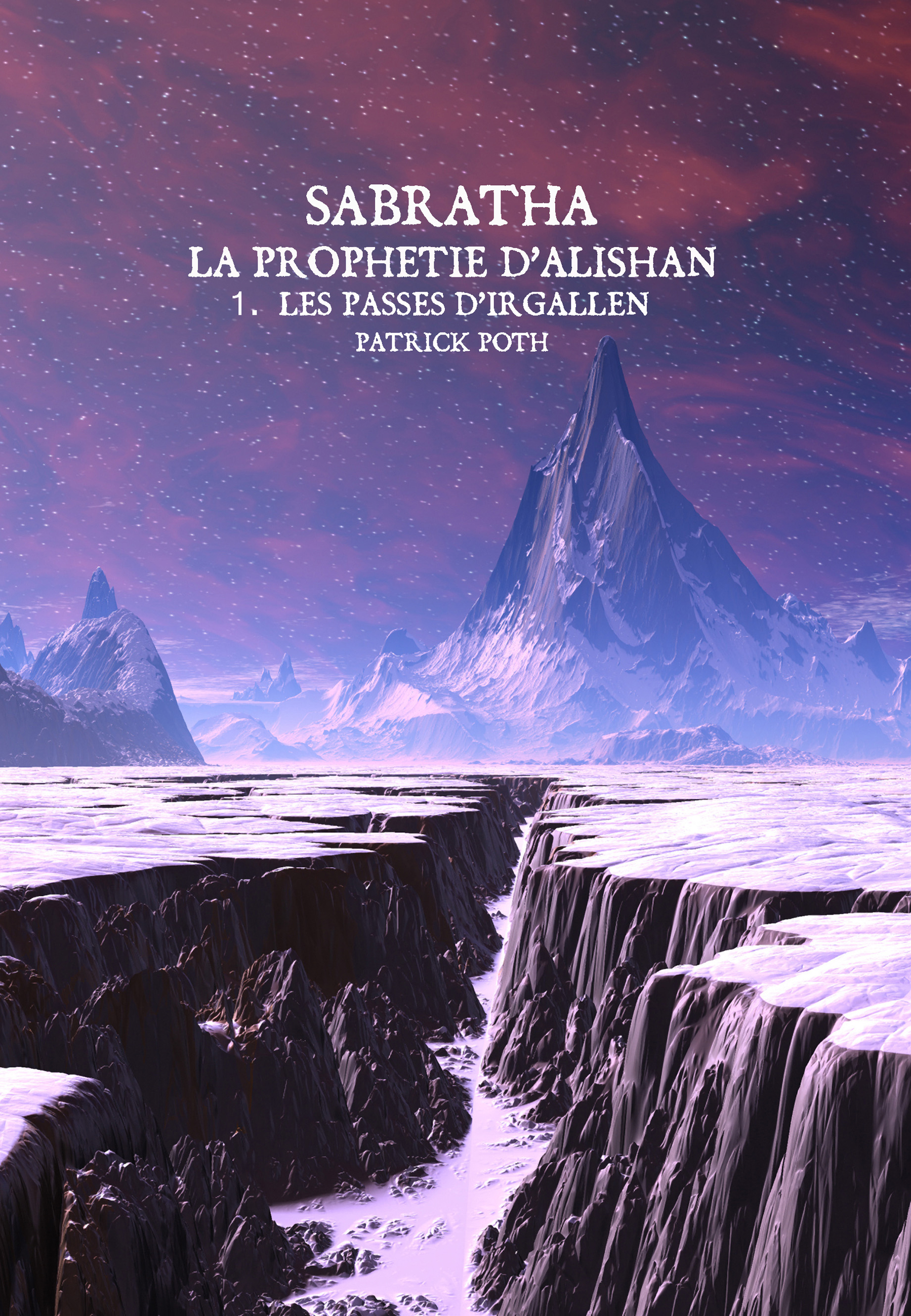 Earthquake Chasm on Alien Ice Planet
